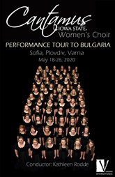 Iowa State University Cantamus Women's Choir Performance Tour to Bulgaria