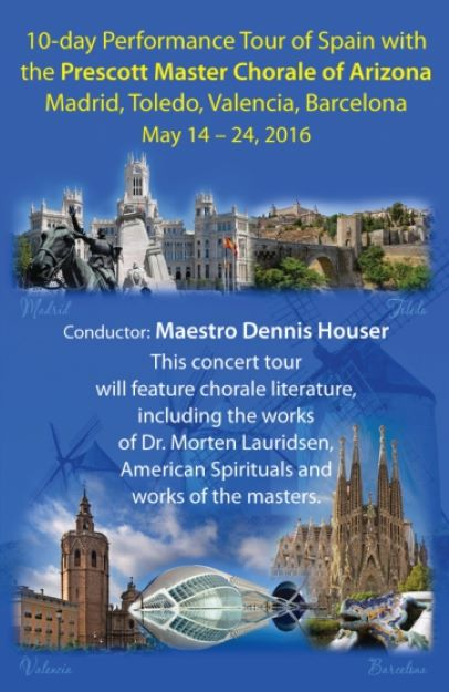 Prescott Master Choral Tour of Spain