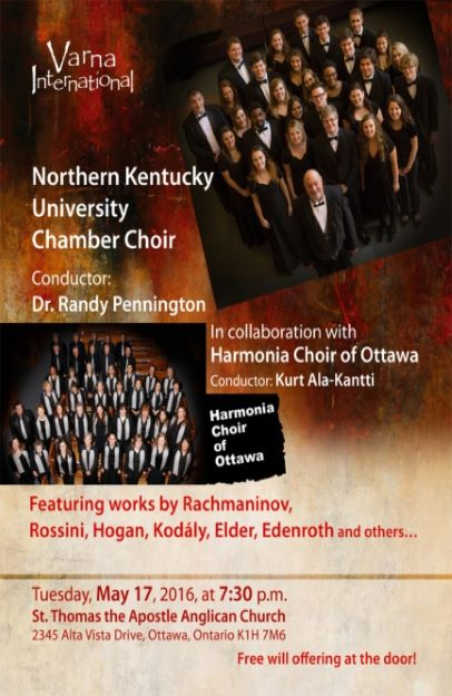 NKU Chamber Choir Canada Tour