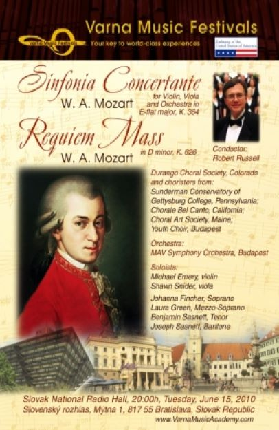 Choral-Orchestra Festival Tour to Central Europe